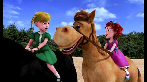 Sunday School or India in Tamil from Donkey Ollie and Friends.