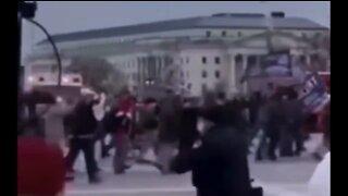Capitol Police Waving-In Protestors