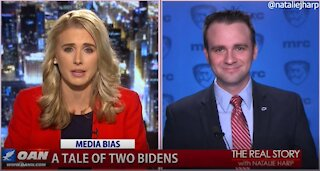 The Real Story - OANN Tale of Two Bidens with Curits Houck
