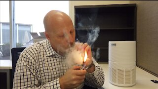 Renpho Air Purifier Review for Cigar Smokers