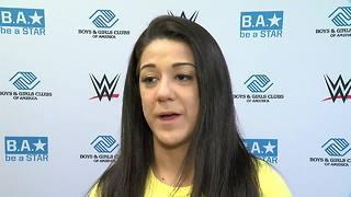 WWE Superstar Bayley Boys & Girls Club