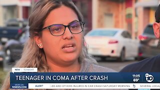 Grossmont High School student in coma after car crash