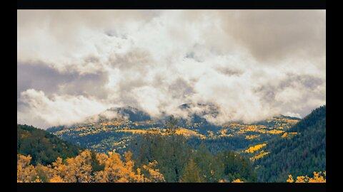 Season Change On Misty Mountain 4K