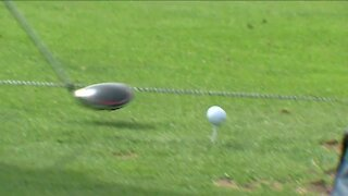 Players fine tune their game ahead of Ryder Cup