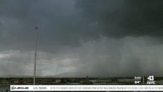 TIMELAPSE: Storm cell over Las Vegas