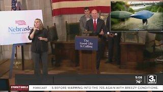 Gov. Pete Ricketts unveils campaign to attract talent to Nebraska; new video featuring Adam Devine