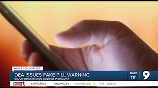 DEA issues warning about fake pills