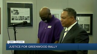 Justice For Greenwood Rally