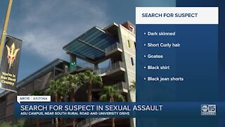 Armed suspect accused of sexual assault near ASU