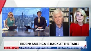 BIDEN: WE WILL LEAD BY THE POWER OF OUR EXAMPLE