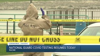 City of Racine bringing back National Guard to assist with COVID-19 testing amid surge