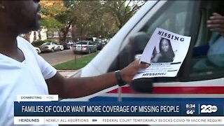 Families of color want more coverage of missing people