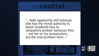 Critics blast Allister Adel's 'disrespectful' request to ABC15