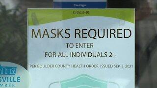 Boulder County COVID-19 transmission remains high despite indoor mask mandate