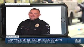 El Mirage first responders raise money for officer battling COVID