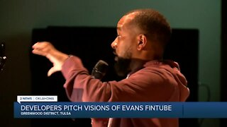 Developers Pitch Visions of Evans Fintube