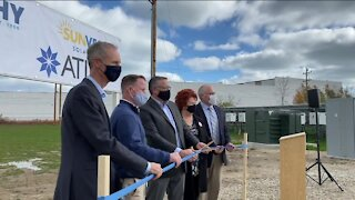 Ribbon cut on Cudahy's largest solar power project