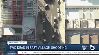 East Village shooting leaves two dead