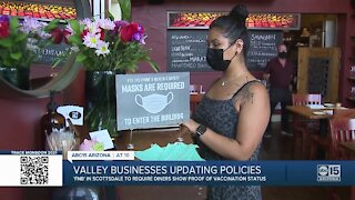 FnB in Scottsdale to require diners show proof of their vaccination status