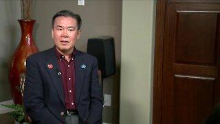 Douglas County School Board Director Kevin Leung files police report