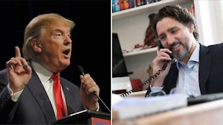 Donald Trump est atteint de la COVID-19 et Justin Trudeau a un message pour lui