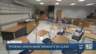 Phoenix Union High School District to require masks indoors