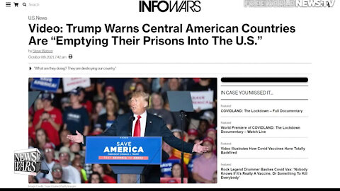 """Video: Trump Warns Central American Countries Are """"Emptying Their Prisons Into The U.S."""""""