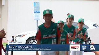 Martin County North celebrated for LLWS appearance