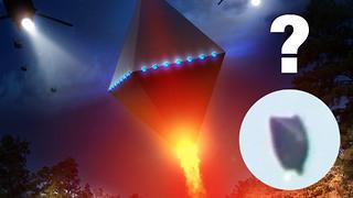 Colorado black diamond-shaped UFO captured on camera?