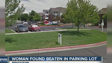 Woman found in Brighton parking lot with severe head wounds