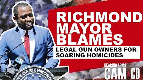 As Homicides Soar, Richmond Mayor Blames Legal Gun Owners