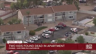 Two kids found dead in north Phoenix apartment