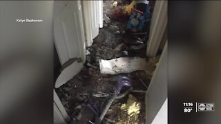 Tarpon Springs family loses home to fire caused by lightning strike