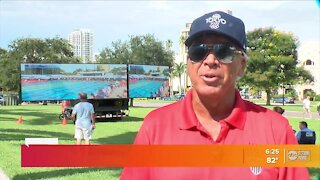 'It's still a dream': Proud dad reacts to Clearwater's Bobby Finke winning gold medal