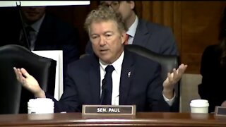 Rand Paul Confronts Fauci Over Gain of Function Research at Wuhan Lab