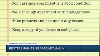 Renters Right: Before Moving In