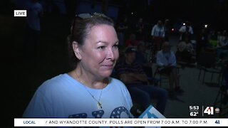 Local Olympian's family hosts watch party
