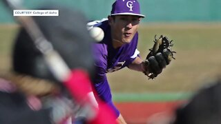 Second College of Idaho athlete to make MLB debut Tuesday