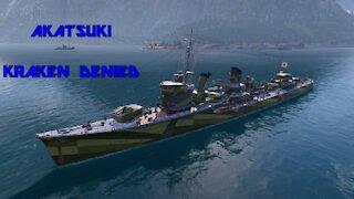World of Warships - Akatsuki: Kraken Denied