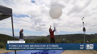 New tools being tested in Arizona to better predict monsoon storms