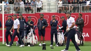 First day of Ryder Cup practice rounds