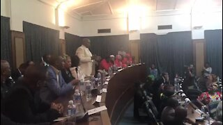 Nelson Mandela Bay council meeting collapses again (JUS)
