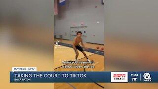 Branden Ellis making a name for himself on court and TikTok