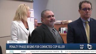 Penalty phase begins for man convicted of killing SDPD officer