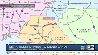 Get a ticket driving to Disney? Settlement may mean money back