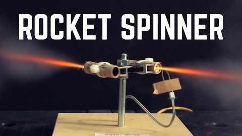 This DIY Rocket Powered Fidget Spinner Will Get You Dizzy