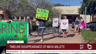 Timeline: Disappearance of Maya Millete