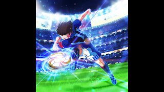 Cool Captain Tsubasa transition with real life soccer! Funny Ending!