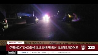 One person killed, another injured in shooting in East Bakersfield