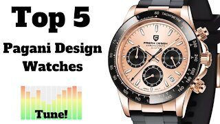 🏆 Top 5 Most Popular Pagani Design Watches on AliExpress